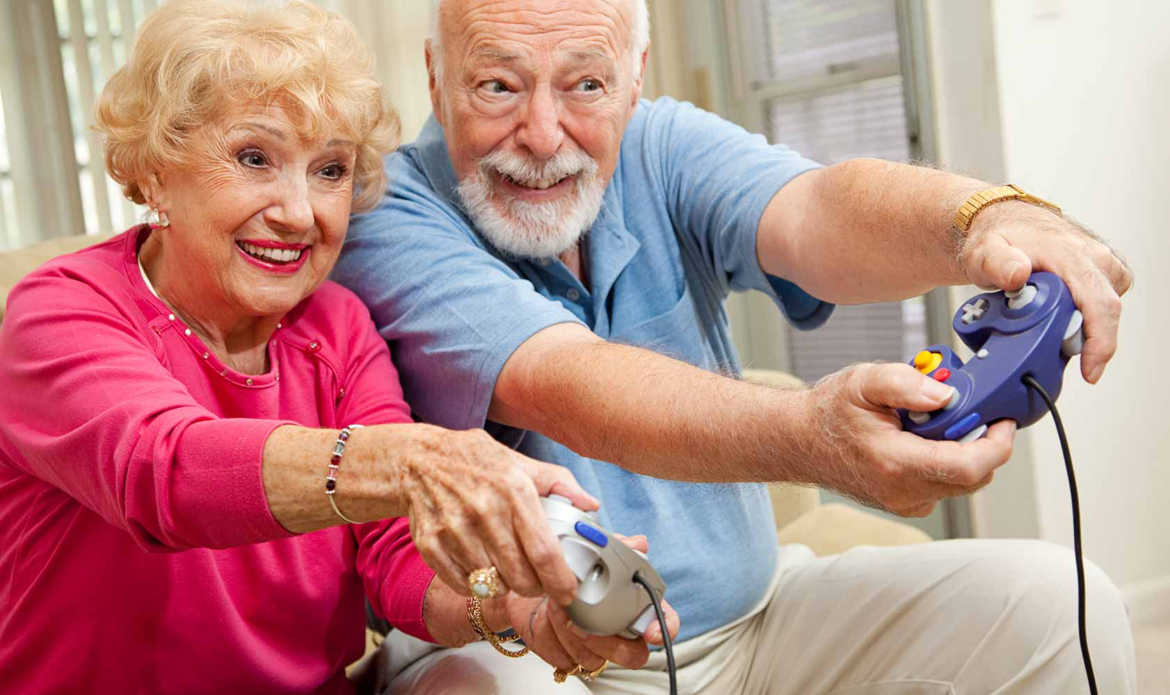 Games Improve Seniors Health
